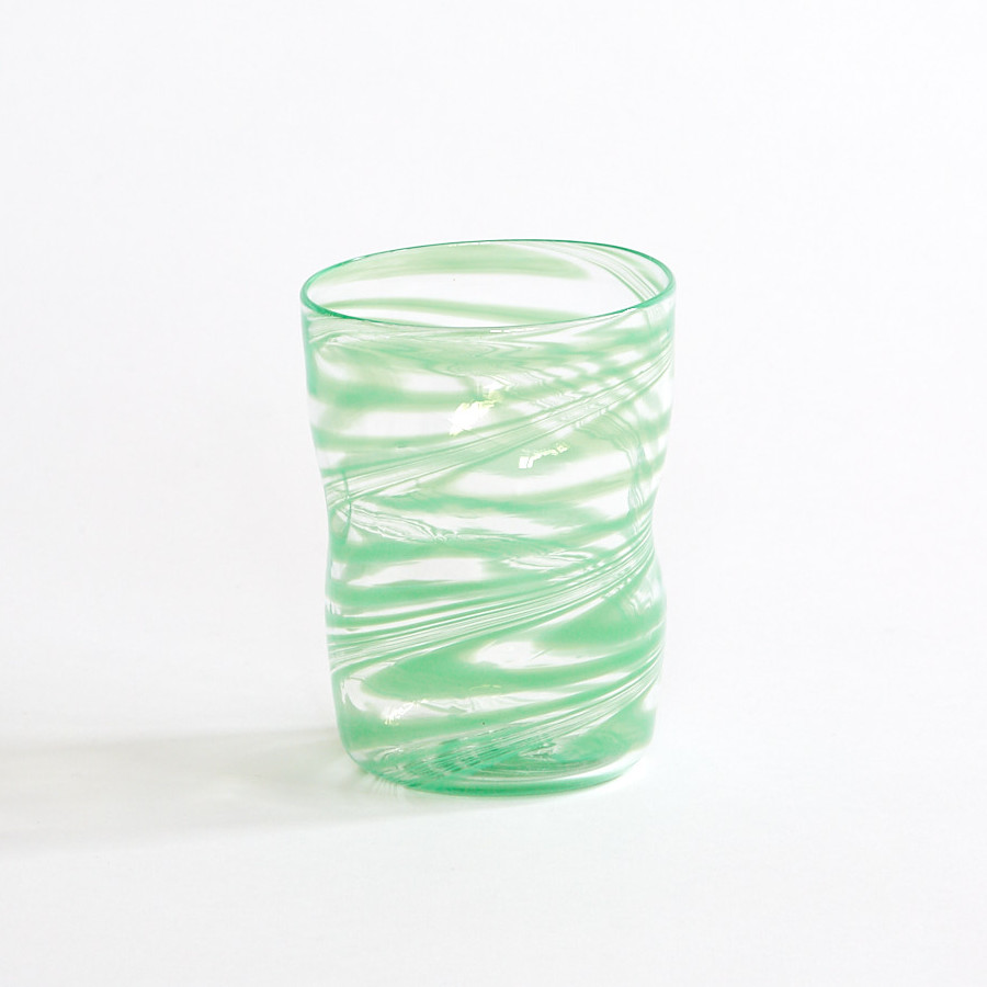 Bright August March The Capri Glass Green¨
